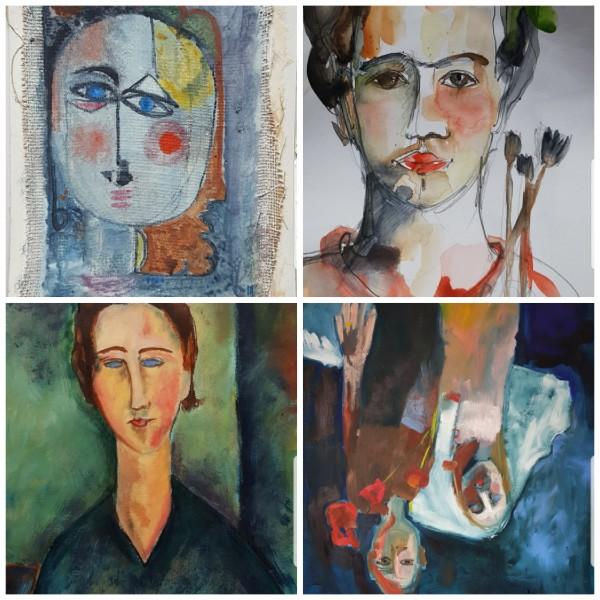 4 große Künstler